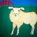 schaap-met-rood-hek